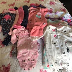 Other - Preemie Girl Clothing - Excellent Condition
